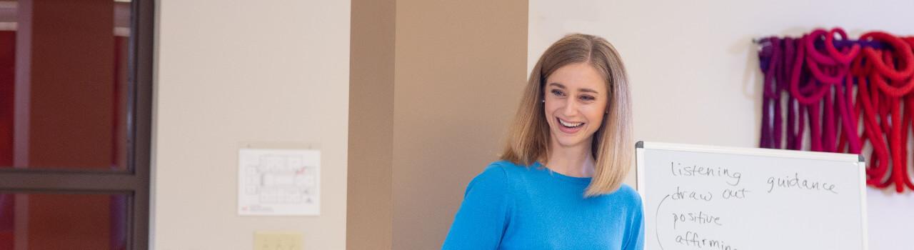 Image of Kay smiling